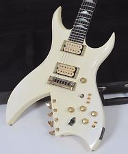 1981 BC Rich Bich 10 String Pearl White with Case
