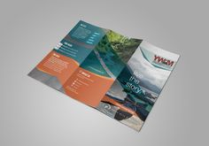 Kettle Fire Creative, YWAM SF,  brochure, tri-fold, Colorado, live the story, blue, orange, grey, missions, ministry, Bible, DTS, 10/40 window, advertising, marketing, youth, layout, nonprofit, YWAM Strategic Frontiers
