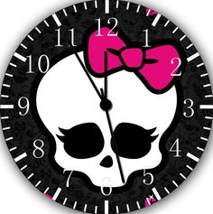 Monster High wall clock Room