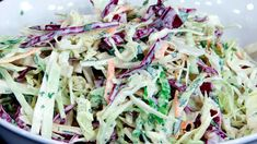 Cabbage Radish and Apple Slaw. This is such a light and refreshing side dish for your holiday barbecues! Cabbage apple and radish slaw with a sweet vinegar dressing. Fruit Recipes, Vegetable Recipes, Salad Recipes, Coleslaw Recipes, Side Recipes, Veggie Dishes, Marinated Beef Kabobs, Chicken Rice Bowls, Apple Slaw