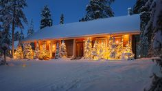 Christmas Chalets by Luxury Action -Rovaniemi, Lapland, Finland