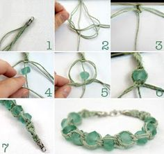 Tina's handicraft : 48 tutorials cretive ideas for bracelets