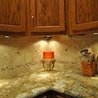 Granite Countertops and Tile Backsplash Ideas - Eclectic - Kitchen - indianapolis - by Supreme Surface, Inc.