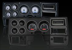1973- 87 Chevy Pickup, 1973- 91 Chevy Blazer, GMC Jimmy and Suburbans VHX Instruments