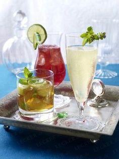 Das Rezept für Pommegranat Ginger Lemonade (Granatapfel-Ingwer-Limonade) und weitere kostenlose Rezepte auf LECKER.de