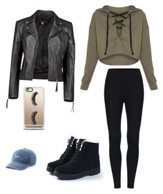 """""""Chill winter day"""" by safiyat-aminu on Polyvore featuring Boohoo, Casetify and SO"""