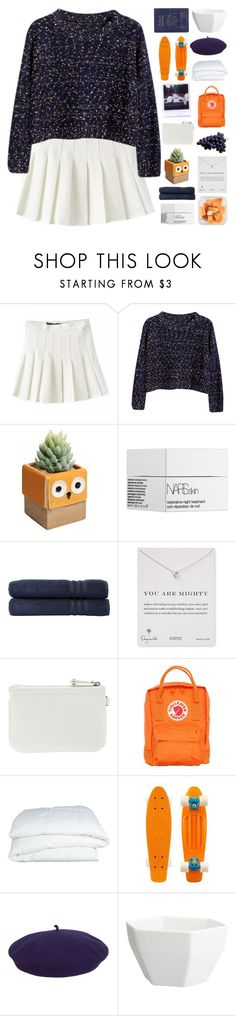 """""""☾☾; Gracie"""" by sunstorms ❤ liked on Polyvore featuring Chicnova Fashion, NARS Cosmetics, Linum Home Textiles, Dogeared, Nine West, Fjällräven, Crate and Barrel, kangol, CB2 and Passport"""