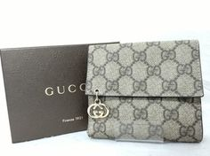 GUCCI GG Brown PVC Leather Bifold Purse Wallet With Box. Get the lowest price on GUCCI GG Brown PVC Leather Bifold Purse Wallet With Box and other fabulous designer clothing and accessories! Shop Tradesy now