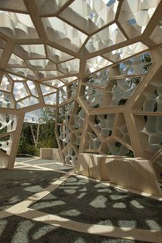 The Times Eureka Pavilion by NEX & Marcus Barnett.
