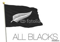 all blacks rugby flag