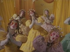 Living dolls in The Tales of Hoffmann Film Aesthetic, Aesthetic Photo, Film Inspiration, Living Dolls, Film Stills, Art Inspo, Art Reference, Creepy, Cool Pictures