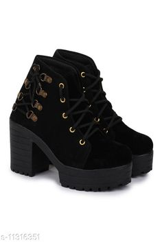 Checkout this latest Boots Product Name: *AASHEEZ LADIES BOOT* Material: PU Sole Material: TPR Pattern: Solid Multipack: 1 Sizes:  IND-2, IND-3, IND-4, IND-5, IND-6, IND-7, IND-8 Country of Origin: India Easy Returns Available In Case Of Any Issue   Catalog Rating: ★4.3 (380)  Catalog Name: Styles Latest Women Boots CatalogID_2117639 C75-SC1065 Code: 026-11316351-4551