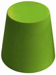 Tabouret Ali Baba - vert by Slide. Retrouvez nos tabourets design sur amateur de design: http://www.amateurdedesign.com/