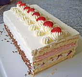 Erdbeer Sahne Torte - Strawberry Cream Torte