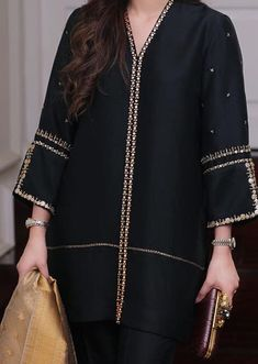 Source by nonushingh Dresses Stylish Dress Designs, Designs For Dresses, Stylish Dresses, Casual Dresses, Pakistani Fashion Casual, Pakistani Dresses Casual, Pakistani Dress Design, Pakistani Clothing, Frock Fashion