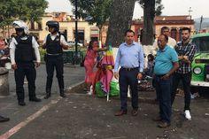 Concretamente en la zona de Capuchinas, Andrés del Río, Vasco de Quiroga y Valladolid, se realizó un operativo coordinado entre la Secretaría de Servicios Públicos, a través de la Dirección ...