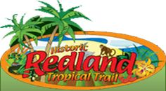 Historic Redland. Between the Everglades and Biscayne National Park. An area rich in history, beauty, tropical climate, and tempting foods.  Acres of tropical fruits and veggies, stuning orchids, and beautiful bonsai trees.  Taste exotic fruit wines, lucious homemade milkshakes, and local cuisine.  Encounter wild alligators and uncaged monkeys, explore a love story in stone, shop and dine in a lush tropical garden with fountains and sculptures. Ride an airboat into the Florida Everglades.