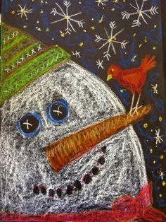 Pamela Holderman: It's snowing snowmen