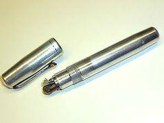 BRIC-STYL ALUMINIUM PENCIL SYLO WICK LIGHTER - BREVETE S.G.D.G. - 1940 - FRANCE Sammeln & Seltenes:Tabak, Feuerzeuge & Pfeifen:Feuerzeuge:Alt (vor 1970)