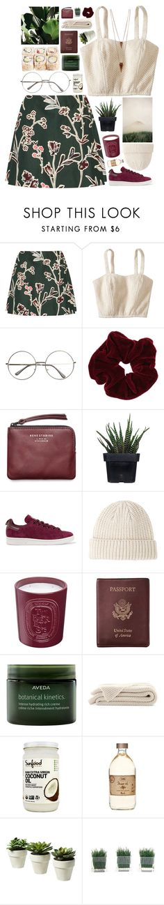 """we're still running away"" by akp123 ❤ liked on Polyvore featuring Marni, Xhilaration, Miss Selfridge, Acne Studios, Alöe, adidas Originals, A.P.C., Diptyque, Royce Leather and Aveda"