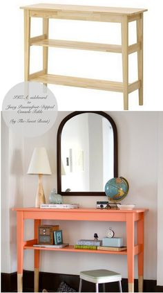 IKEA Dipped Console Table