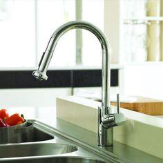 Talis S Variarc Grifo De Cocina Con Ducha Extraíble - Hansgrohe talis m pull down kitchen faucet