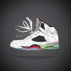 @jc.ro Nike Jordan Sneaker artwork