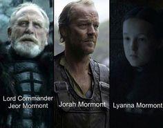 House Mormont. Here We Stand. (Lyanna Mormont is Jorah's cousin) #mormont…