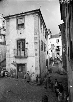 Lisboa de Antigamente: Beco e Pátio das Canas