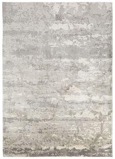 Bamboo Silk Material carpet in Gray color
