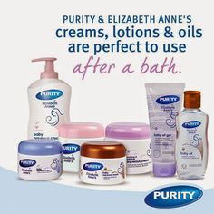 Purity and Elizabeth Anne's GIVEAWAY! Baby Oil Gel, Elizabeth Anne, Baby Blog, Lotion, Giveaway, Personal Care, Reading, Books, Livros