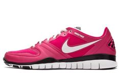86d279ba6ca9 Nike Free Hyper Tr Womens Voltage Cherrywhitepink Athletic Sneakers -- Be  sure to check out