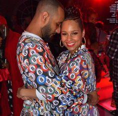 House Party Throwback: Swizz Beatz Throws Alicia Keys a Surprise Pajama-Jam Black Celebrity Couples, Black Couples, Cute Couples, My Black Is Beautiful, Black Love, Beautiful Women, Black Marriage, Swizz Beatz, Love Jones