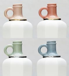 Porcelain Vessel with Gold or Platinum Luster | Home Dining & Barware | Redraven Studios | Scoutmob Shoppe | Product Detail