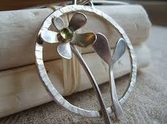 Image result for handmade silver necklace