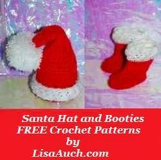 FREE Crochet Patterns: FREE Crochet Patterns for Christmas Decorations & Christmas Ornaments To Hang on your Tree