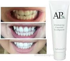 nu skin whitening toothpaste - Google Search Ap 24 Whitening Toothpaste, Whitening Fluoride Toothpaste, Best Teeth Whitening Kit, Teeth Whitening Remedies, Skin Whitening, Nu Skin, White Teeth, Deodorant, Body Care