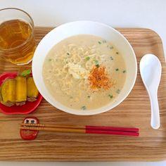 マルちゃんのね(^・^) - 27件のもぐもぐ - 豆乳味噌ラーメン by saitohhiroko