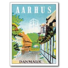 Aarhus is the second-largest city in Denmark! www.visitdenmark.com/east-jutland/art/aarhus #denmark #travel #holidays #eastjutland