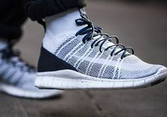 low priced 9ac2c b49d5 RELEASE REMINDER   Launching at 8am GMT Nike Free Flyknit Mercurial Pure  Platinum http