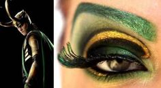 Loki makeup. I actually tried it, love it.