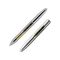 titanium nitride chrome infinium space pen gold blue ink