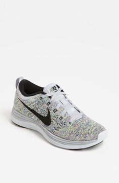 Nike 'Flyknit Running Shoe (Women) available at I'm really into running sneakers lately(even though I don't do running😂) and these are just too cute😍 Nike Free Runs, Nike Running, Running Shoes, Zumba Shoes, Nike Flyknit, Nike Shox, Nike Roshe, Flyknit Lunar, Athletic Outfits