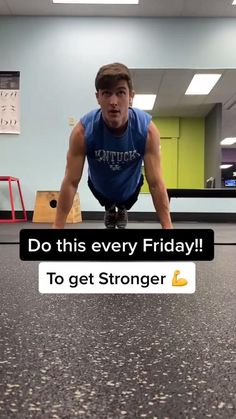 Push Day Workout, Dumbbell Workout Plan, Full Body Kettlebell Workout, Abs And Cardio Workout, Workout Men, Workout Videos, Workouts, Push Up Routine, Full Body Workout Routine