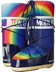 Tecnica - Moon Boot Rainbow 2.0 Cold Weather Boots http://shopstyle.it/l/dLsH