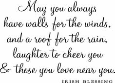 Vinyl Ready To Cut Irish Blessing by EnchantingQuotes on Etsy