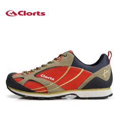 2016 clorts de corte bajo senderismo zapatos de los hombres zapatos de escalada de cuero de gamuza de gamuza zapatos de trekking resistentes al desgaste zapatos de montaña 3e003a/b