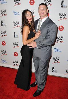 John Cena and Nikki Bella Photos - Arrivals at WWE's 'Superstars for Hope' Event - Zimbio