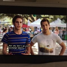 So this actually happened in pitch perfect and my feelings are all over the place - Pitch Perfect & Dear Evan Hansen
