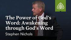 Stephen Nichols: The Power of God's Word: Awakening through God's Word - YouTube Reformed Theology, Gods Promises, S Word, Awakening, Teaching, Youtube, Promises Of God, Education, Youtubers